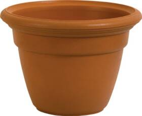 Ames 5357868 Hampton Planter 12 in Dark Terra