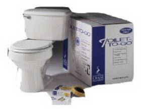 American Standard Brands 3755N-208 Toilet-To-Go Round Front Bone