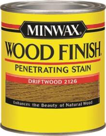 Minwax 22126000 Driftwood Wood Finish Stain 1/2-Pint