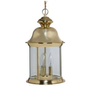 Boston Harbor BRT-8703-PB Polished Brass Outdoor Pendant Lantern