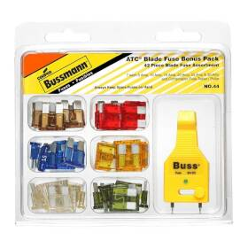 Bussmann Fuses NO.44 Small Dimension Fuse Assortment