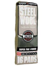 Homax 106600-06 Super Fine Steel Wool #0000