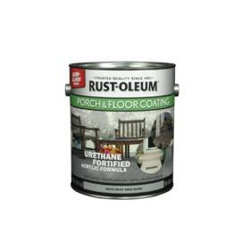 Rust-Oleum 244057 Porch & Floor Coat D-Gray Semi-Gloss