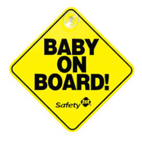 Dorel Juvenile Group 48918 Sign Baby On Board
