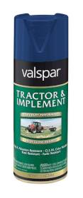 Valspar 5339-12 Tractor And Implement Enamel Spray Ford Blue 12 oz