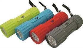 Power Zone FT-ORG18 Compact 12-Hour LED Flashlight