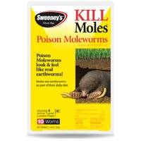Woodstream S6009 Mole & Gopher Poison Worms 10pk