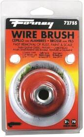 Forney Industries 72755 Knot Crimped Wire Cup Brush 2-3/4 In