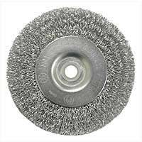Weiler Corporation 36402 4 in Crimp Whl Brush Coarse