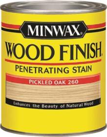 Minwax 22600000 Pickled Oak Wood Finish Stain 1/2-Pint