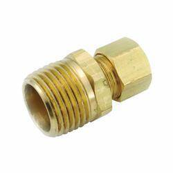 Anderson Metal 750068-0302 Connector 3/16comp X 1/8mpt Lf