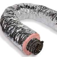Ll Building Products 0225961 8 in x25 ft Insulated Air Duct
