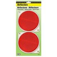 Hy-ko Products 0253260 3-1/4 in Red Nail-On Reflector