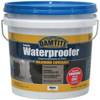 Damtite Waterproofing 01211 21lb White Waterproof Powder