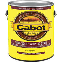Cabot 140.0001107.007 Gal Semi-Solid Latex Deep Base