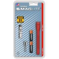 Mag Instrument M3A036 Aaa Mini-Mag Flashlight Red