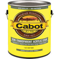 Cabot 140.0001307.007 Gal Semi-Trans Latex Deep Base