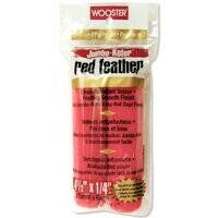 Wooster Brush RR311-4 1/2 4.5 in Red Feather Roller Cover