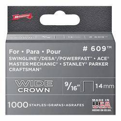 Arrow Fastener Co 60930 9/16 in Wide Heavy Duty Staples 1000/Bx