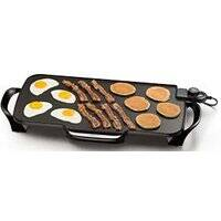 National Presto 07061 22 In Electric Griddle Rem Hnd