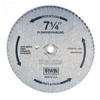 Irwin 11840 7-1/4 140tht Plywood Saw Blade