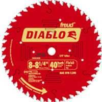 Freud D0840X 8-1/4 40tht Finish Circular Blade