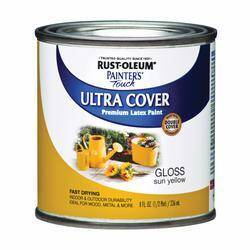 Rust-Oleum 1945730 1/2 Pt Sun Yellow Paint