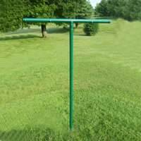 Stephens Pipe & Steel CLP00804 Clothes Line Pole Gogreen 8x4 Ft