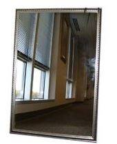 Home Decor Innovations 202015 Silver Ornate Mirror 36 in X48 in