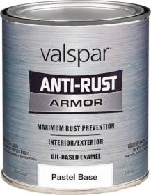 Valspar 044.0021805.005 Rust Preventive Enamel Paint Pastel Base 1 Gal