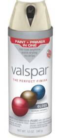 Valspar 85004 Twist And Spray Interior/Exterior Multi-Surface Enamel Spray Paint Lovely Bluff Gloss Finish 12-Ounce Can