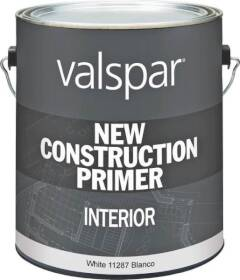 Valspar 11287 New Construction Interior Primer White 1 Gal
