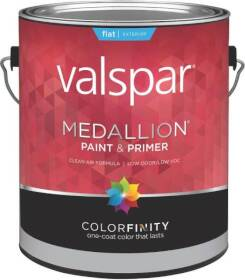 Valspar 45508 Medallion Latex Paint Flat Pastel Base 1 Gal