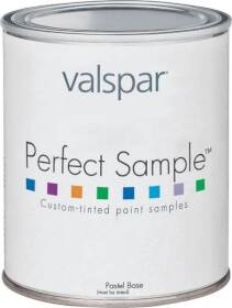 Valspar 3402 Medallion Perfect Sample Latex Paint Satin Tint Base 1 Pt