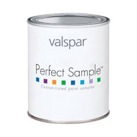 Valspar 3405 Perfect Sample Latex Paint, Clear Base