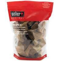 Weber Grill 17003 Pecan Wood Chunks 5lb