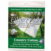 Orgill Inc 6954242 Country Cotton Filter Freshener
