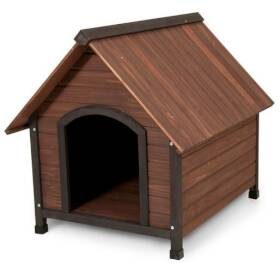Doskocil Manufacturing 3718517 Wood Dog House For 50-90 lb