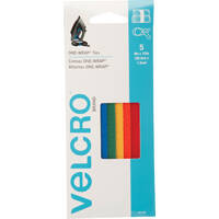 Velcro Usa Inc 90438 One-Wrap Multi Color Strap 5pk