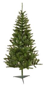 Santas Forest Inc 06766 6-1/2 ft Artificial Denali Spruce Pre-Lit Tree with Clear Bulbs