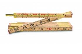 Lufkin X46N Wood Rule Red End With 6 In Slide Rule Extension 6 Ft X5/8 In