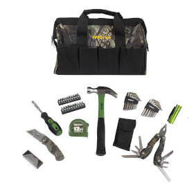 Orgill Inc 81-917 Camo Tool Bag 51pc