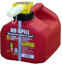 No-Spill 5249511 Red Gas Can - 1.25 Gal