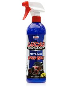 Lucas Oil 10160 Slick Mist Fast And Easy Speed Wax 24 oz