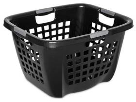 Sterilite 1201 2.1 Bushel Ultra Laundry Basket, Black