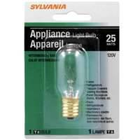 Sylvania/Osram 18365 25 Watt T8 Home Appliance Clear Incandescent Bulb