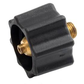 Mr Heater F276495 Appliance End Fitting Propane Acme Nut In Black