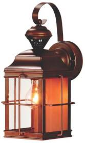 Heath HZ-4144-AZ Dualbrite Porch Motion Activated Light Fixture Antique Bronze