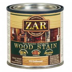 United Gilsonite Laboratories 11306 Zar Oil Based Wood Stain Fruitwood, 1/2 Pt