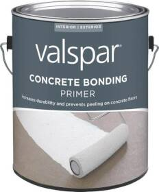 Valspar 82000 Interior Or Exterior Concrete Bonding Primer One Gallon